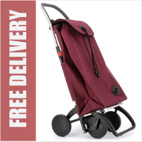 Rolser Pack 4 Wheel Shopping Trolley Wine