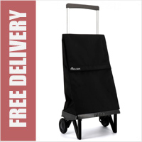 Rolser Plegamatic Original Folding Trolley Black