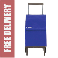 Rolser Plegamatic Original Folding Trolley Blue