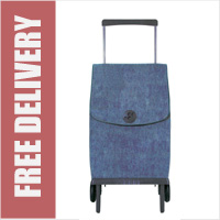 Rolser Plegamatic Orbita Folding Trolley Denim Blue