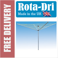 Rota-Dri 4 Arm 48mtr Rotary Washing Line - WITH FREE GROUND POST