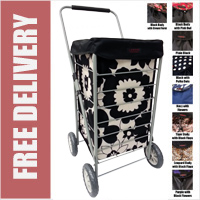 Stafford 4 Wheel Shopping Trolley - LIMITED EDITION