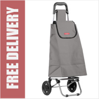 Typhoon Grey 2 Wheel Shopping Trolley