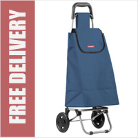 Typhoon Navy 2 Wheel Shopping Trolley