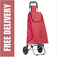 Typhoon Red 2 Wheel Shopping Trolley