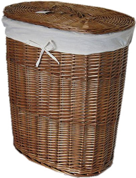 Wicker laundry linen basket with lid and liner dark wicker laundry baskets - Wicker laundry basket with liner and lid ...