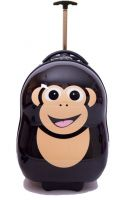 Cuties & Pals Cheeki the Chimp - Hard Shell Trolley Case