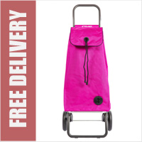 Rolser Mountain I-Max Original 2 Wheel Shopping Trolley Fuchsia Pink