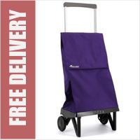 Rolser Plegamatic Original Folding Trolley Purple
