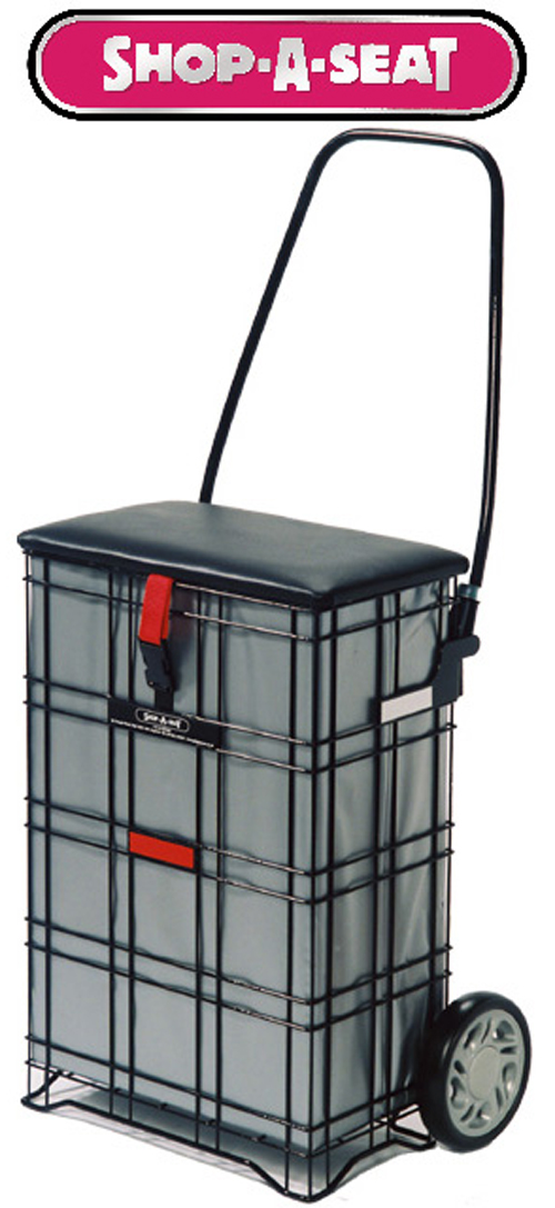 Shop-A-Seat Escort 2 Wheel Shopping Trolley