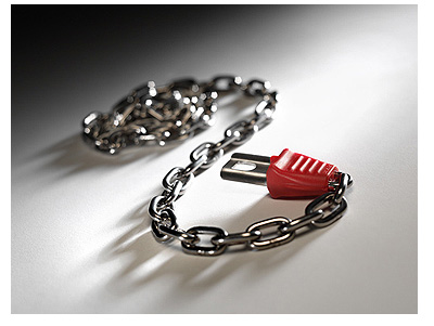 Starter Chain for £1 Trolley Locks